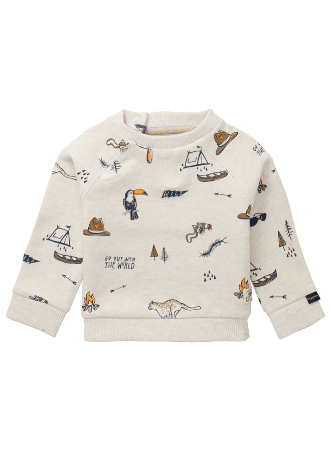 B Sweater Tilbrook RAS1202 Oatmeal