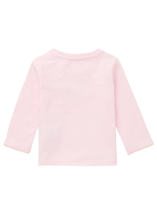 G T-shirt LS Moosomin Primrose Pink