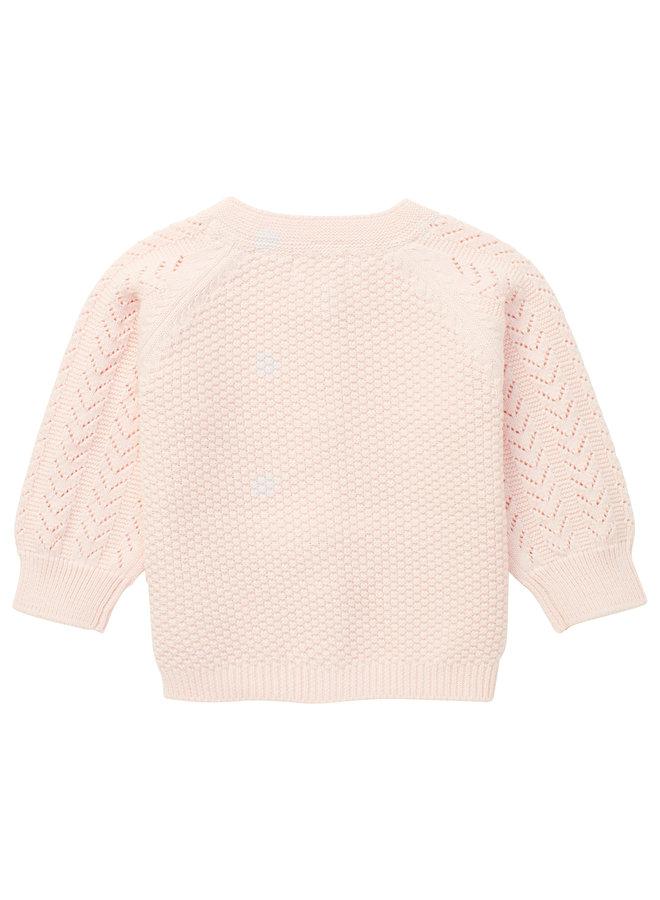 G Cardigan LS Macklin Primrose Pink