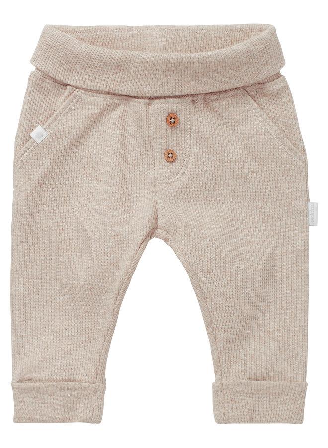 U Regular Fit Pants Shipley Sand Melange