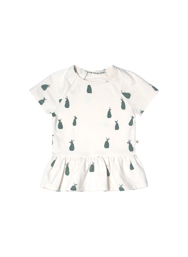 Pear | Ss Shift Top Old Green