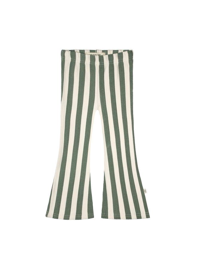Bold Stripes | Flared Legging