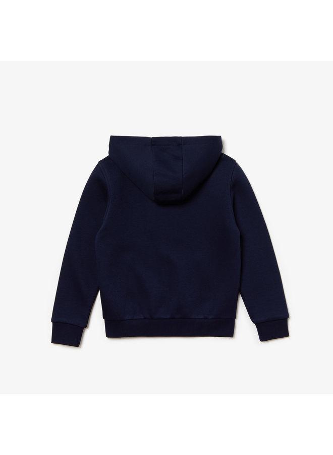 1ES1 Children sweatshirt 02 Navy Blue/Silver Chine