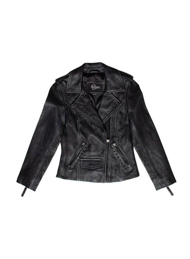 Irene Leather Jacket black