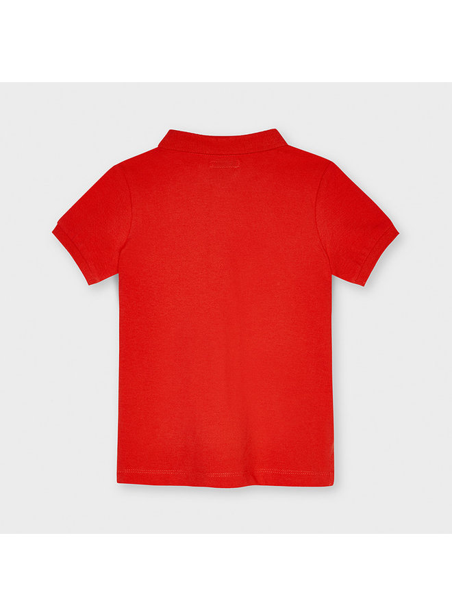 Baby's Basic s/s polo Cyber Red