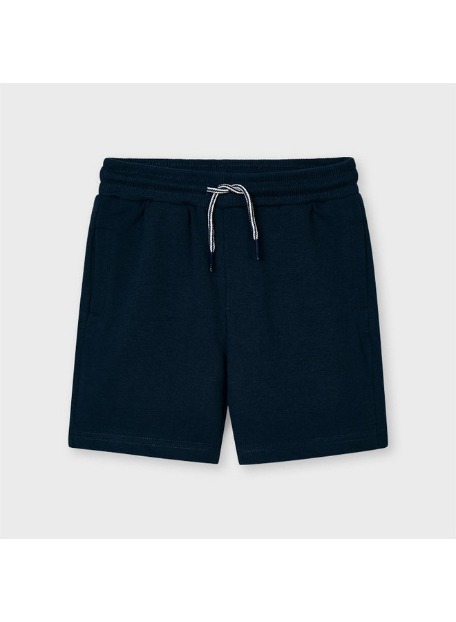 Basic fleece shorts Navy
