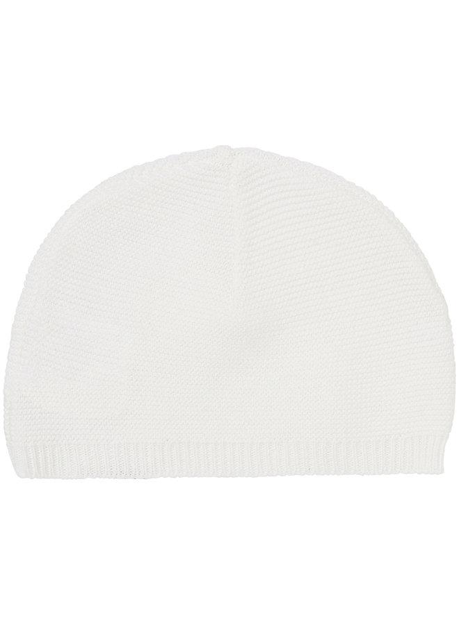 Hat knit Rosita White