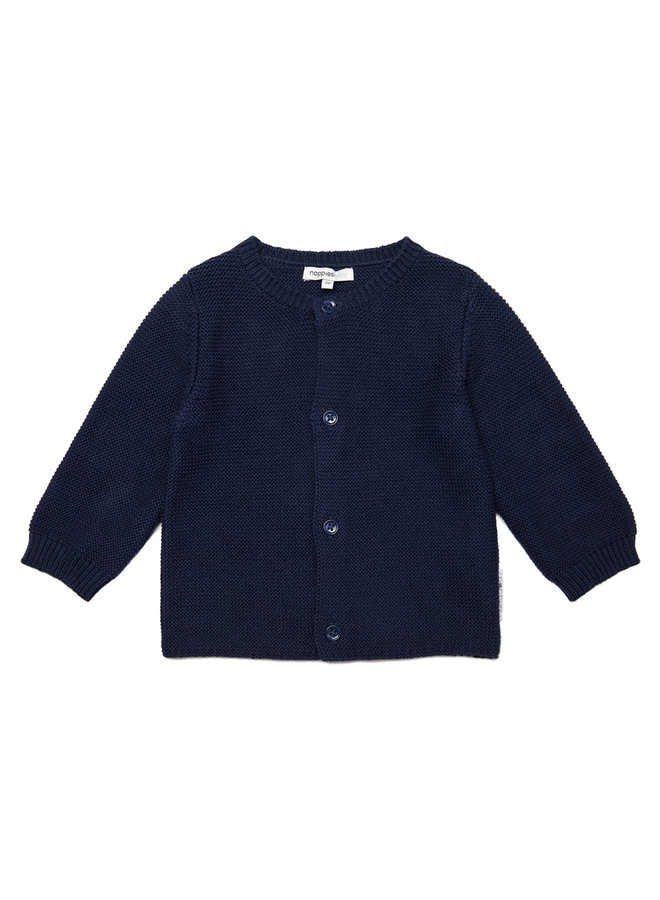 Cardigan Knit ls Pino Navy
