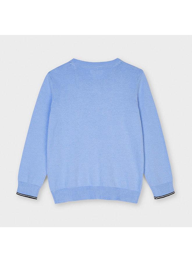 Basic crew neck sweater Lavender