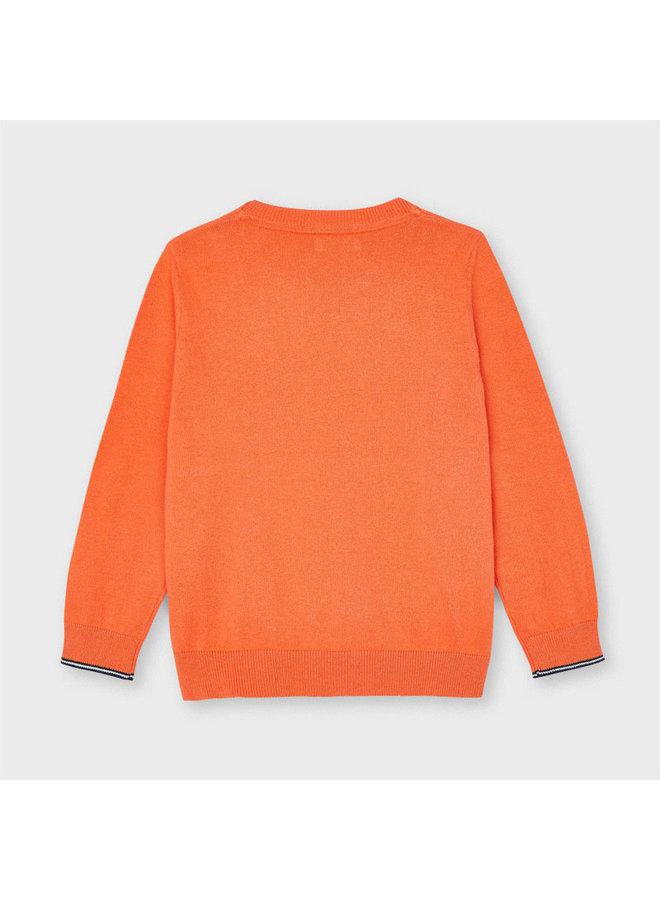 Basic crew neck sweater Apricot