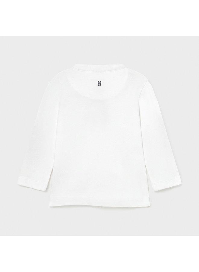 l/s t-shirt White