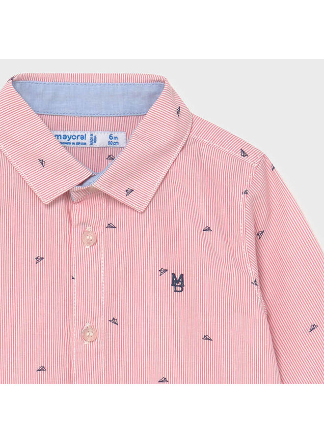 L/s shirt Salmon