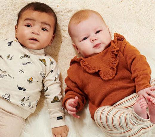 Kleding en accessoires voor baby's