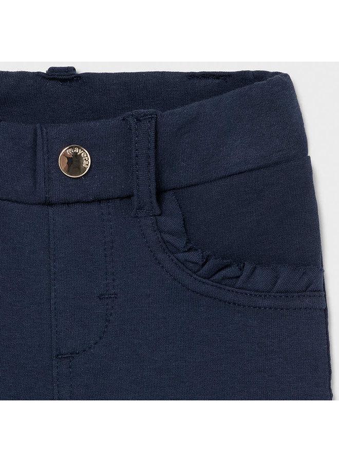 Basic knit pants Navy