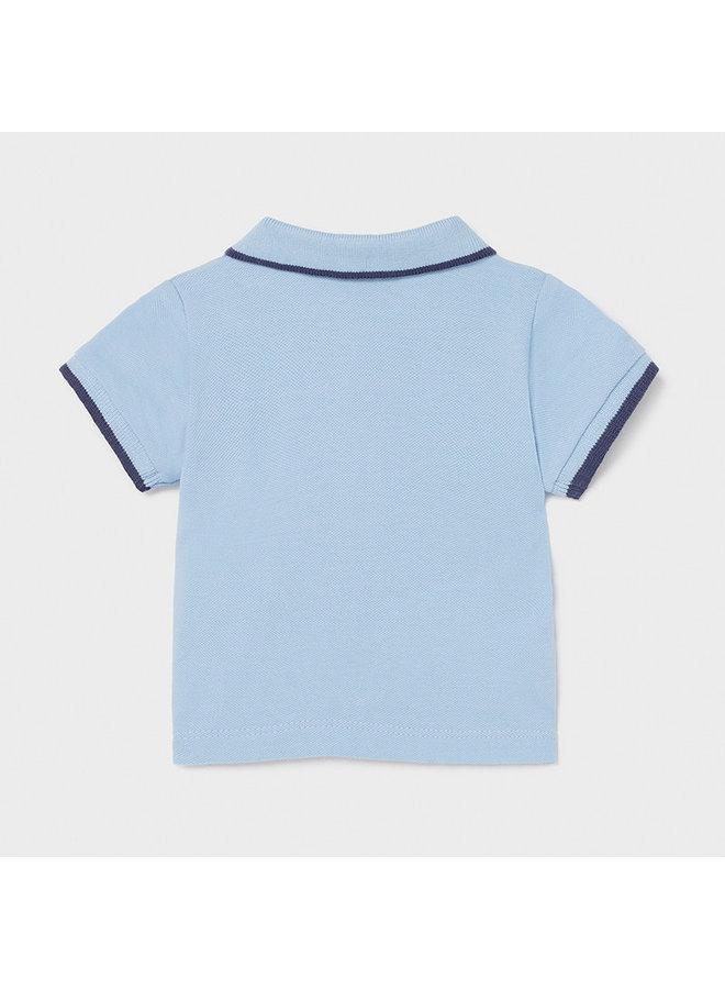 Basic s/s polo Blue