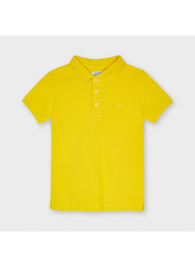 Basic s/s polo Yellow