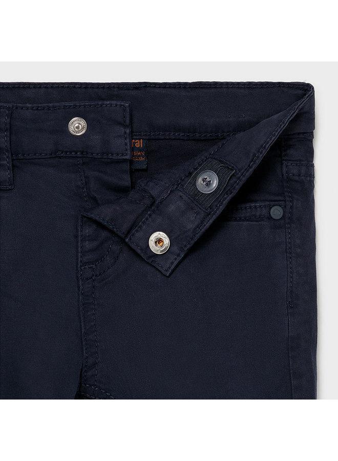 Baby's Basic slim fit serge pants Navy