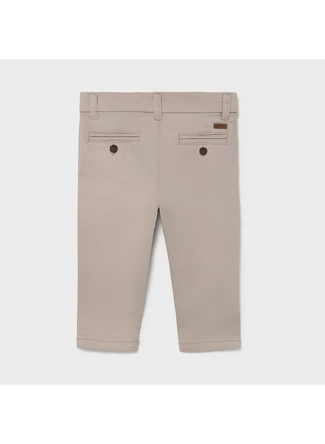 Baby's Twill basic trousers Sand
