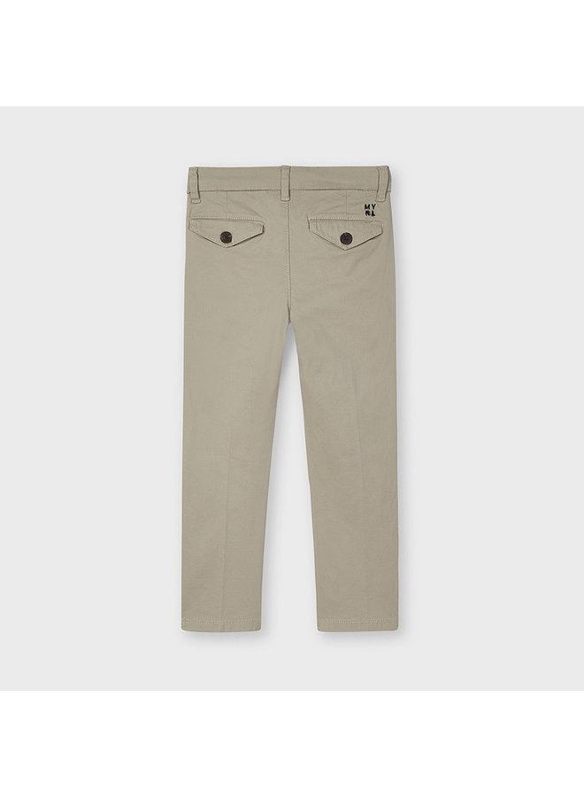 Jongens Twill basic trousers Sand