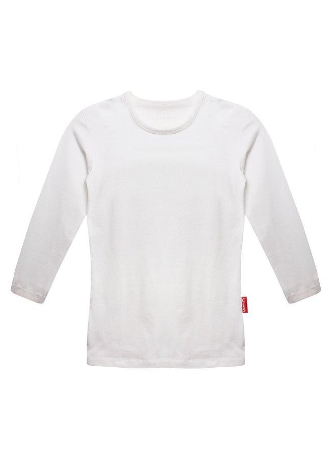 T-Shirt Ronde Hals - Wit - Cl856