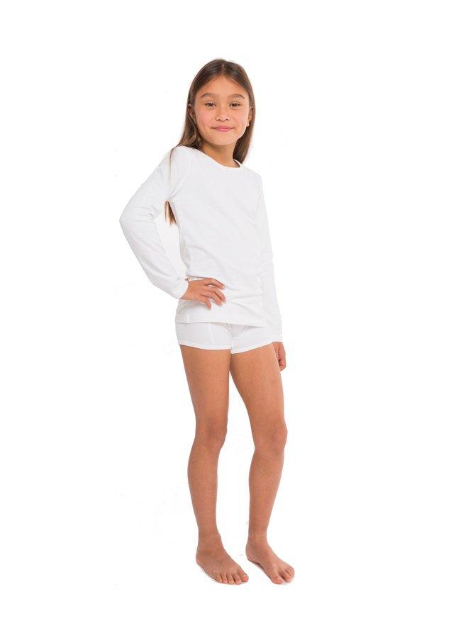 GirlsT-shirt LS white
