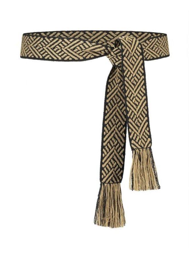 Ethnic Rope Pes 698 G Black Dessin