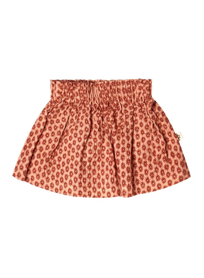 Broderie Terra Skirt Peach