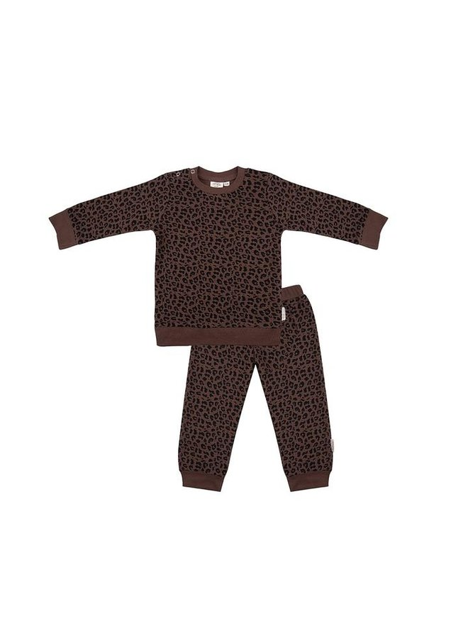 Pyjama Waffle Leopard
