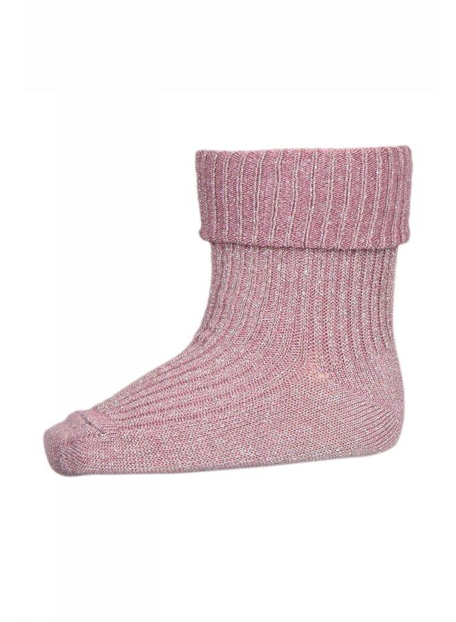 Ida glitter socks Rose Dust