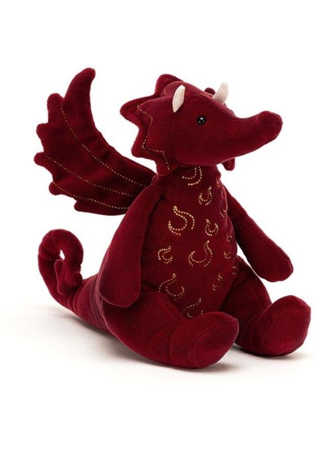Ruby Dragon Red
