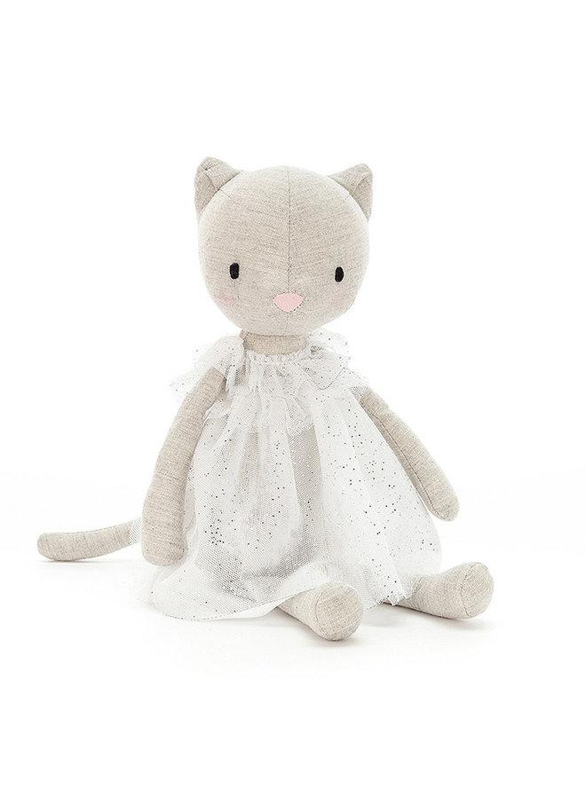 Jolie Kitten White
