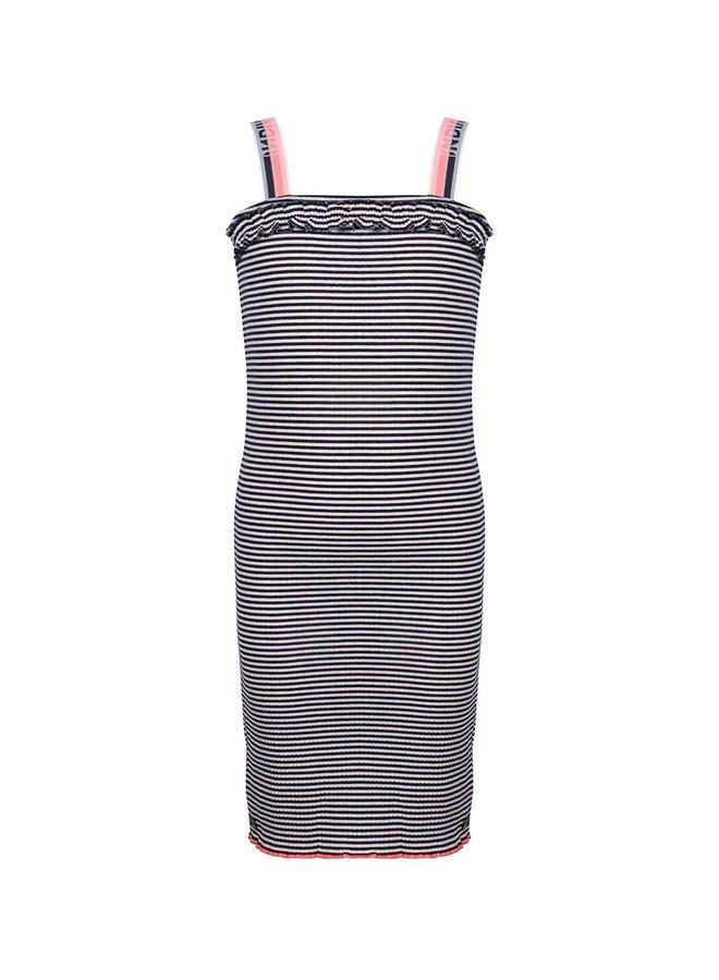 Dress Ss Tape Striped