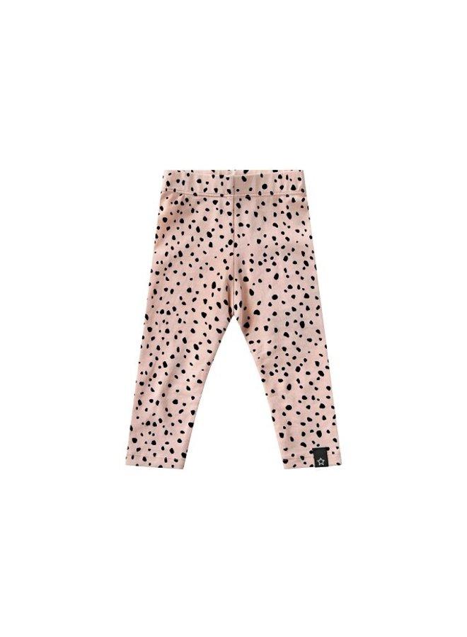 Cheetah Legging Soft Pink