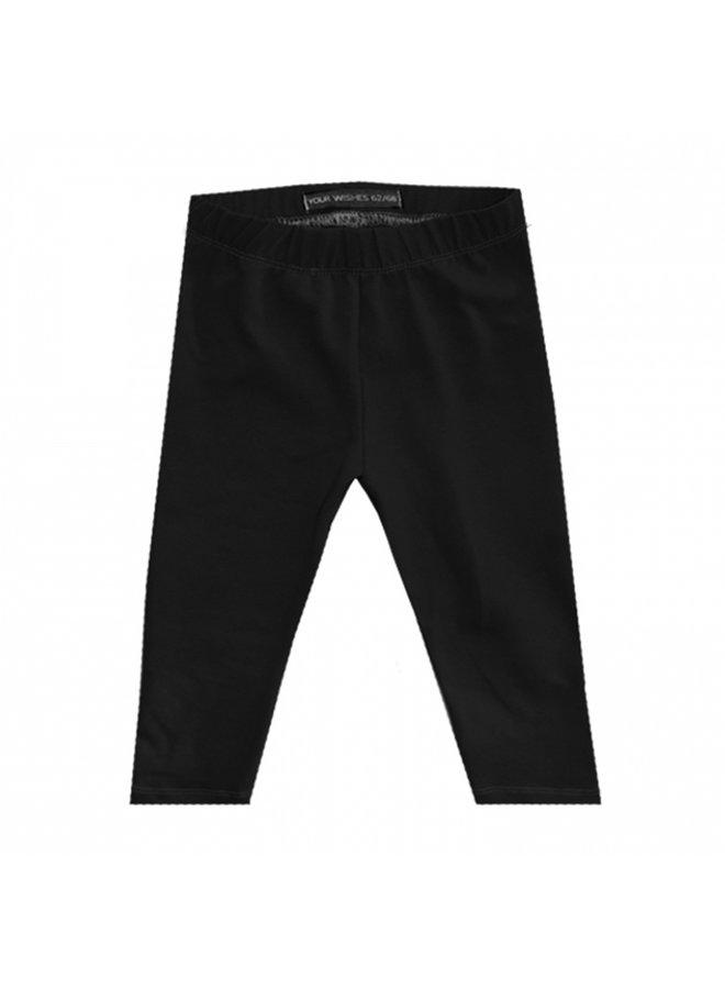 Solid Black | Legging