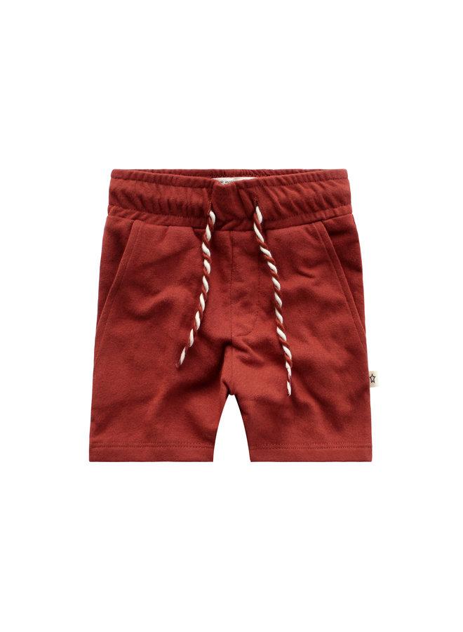 Solid Burnt Sienna/Long Short