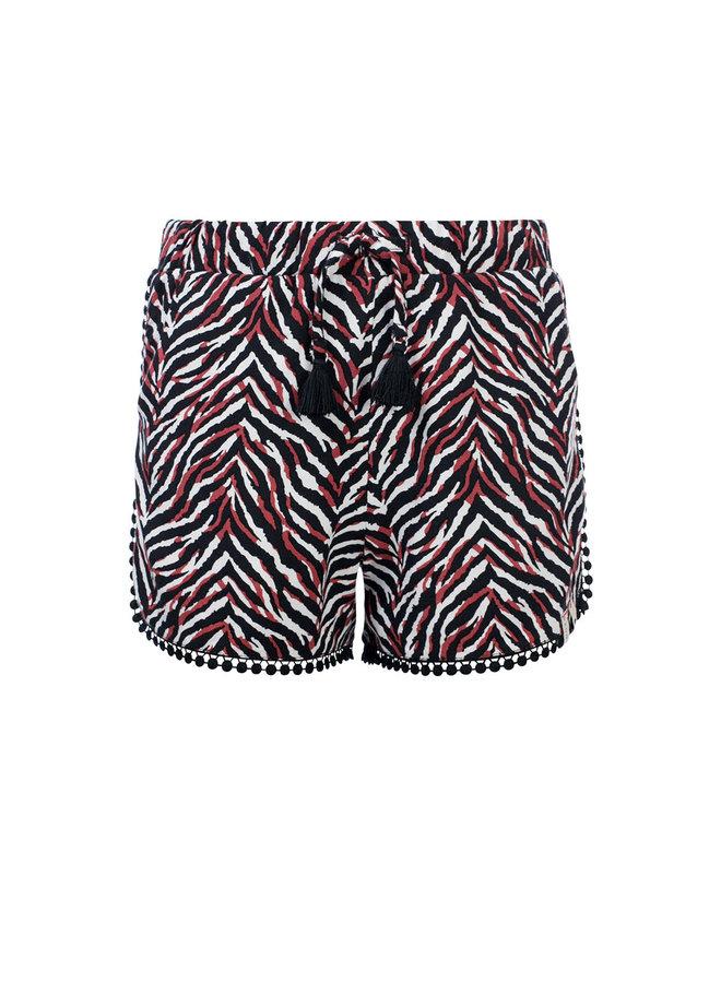 10Sixteen Woven printed shorts Zebra