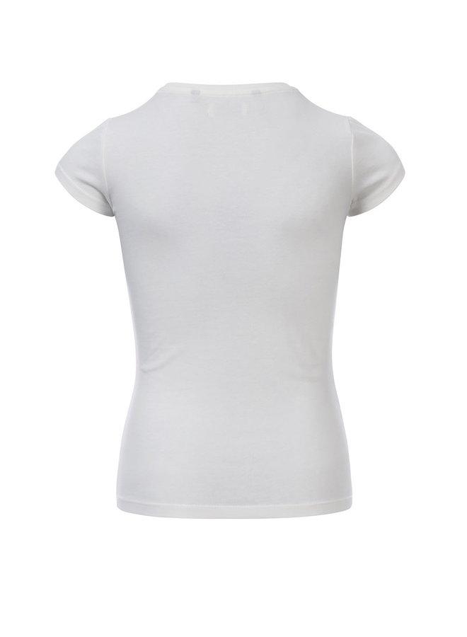 10Sixteen T-shirt White Lilly