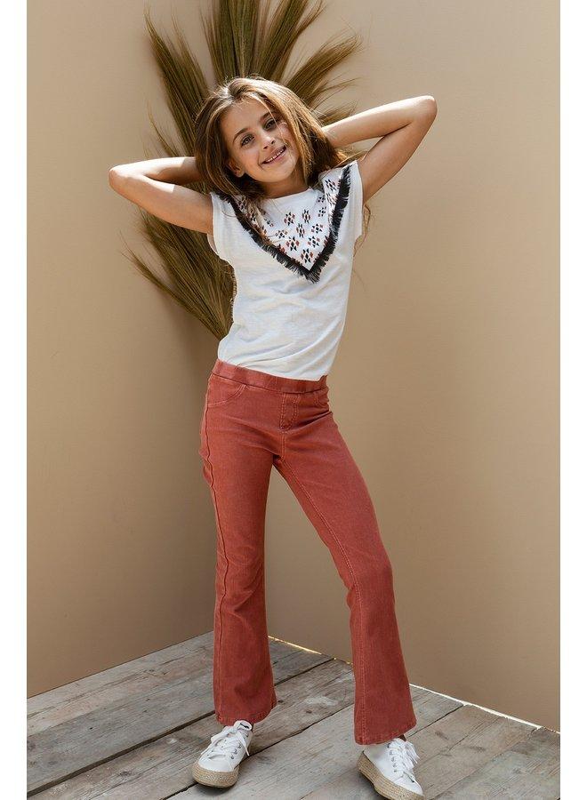 10Sixteen Flare pants Savanne