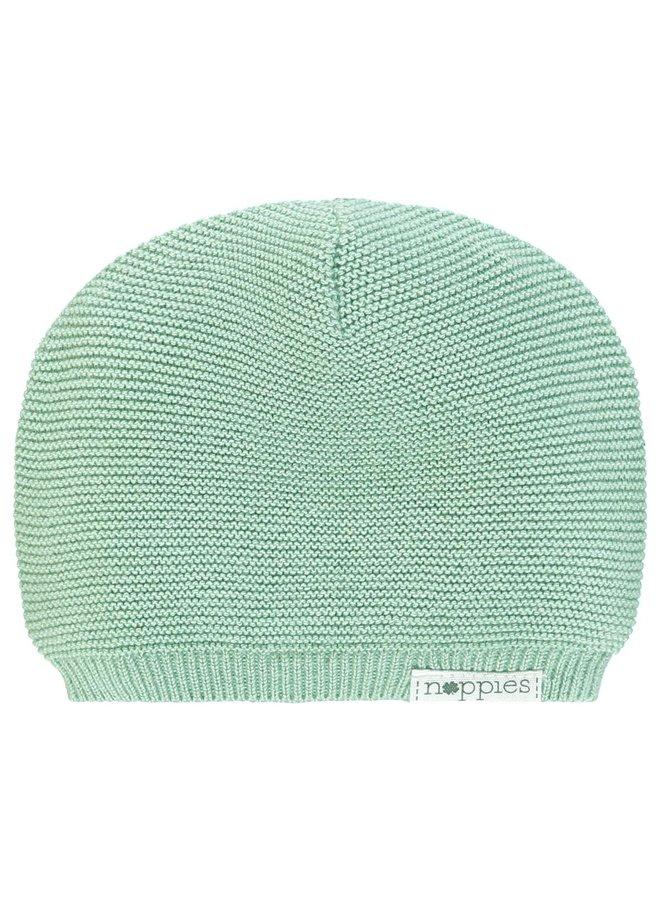 Hat knit Rosita Grey Mint