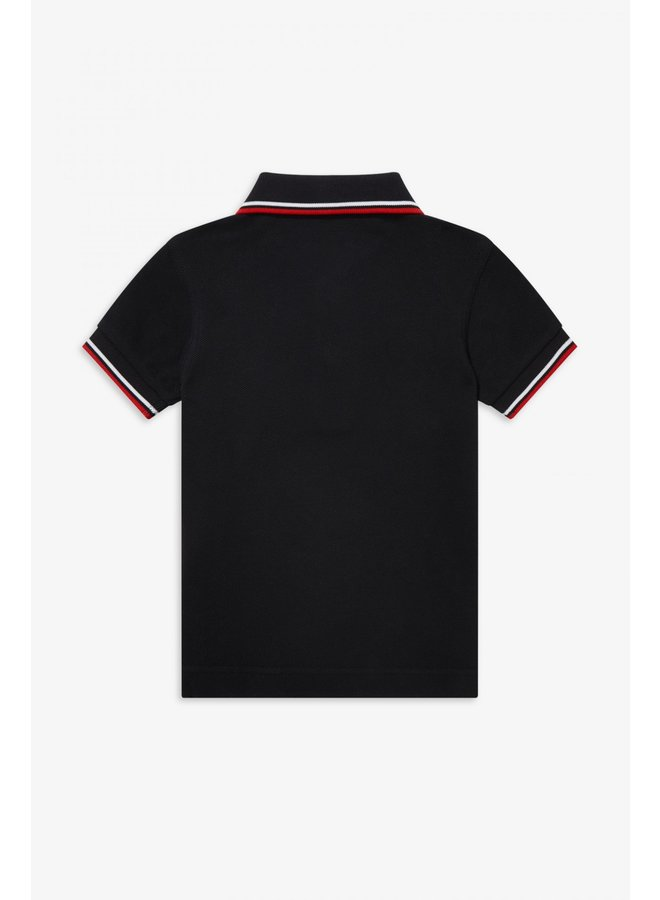 My First Fred Perry Shirt Navy/White