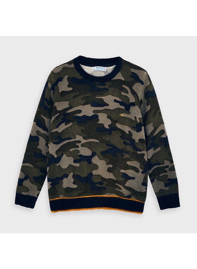 Camuflage sweater Navy