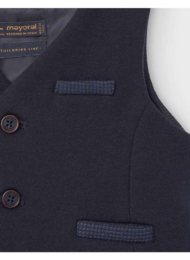 Dress vest Navy