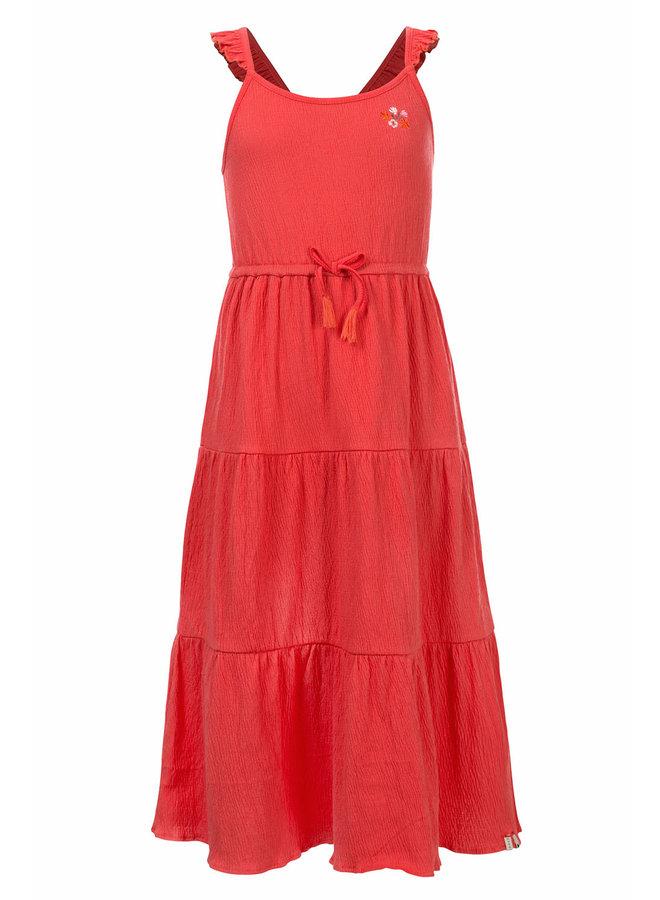Little dress long Coral