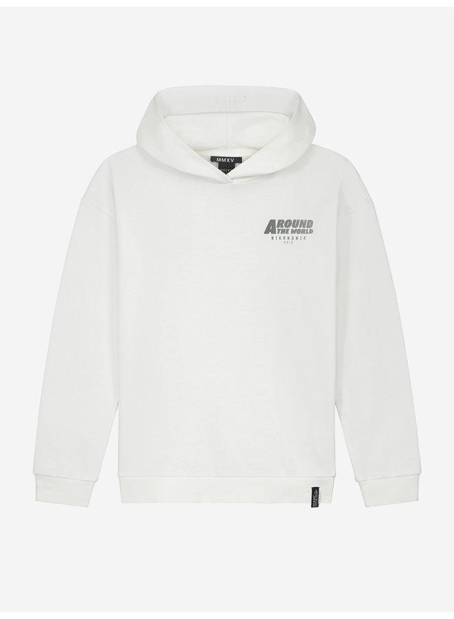 Around Hoodie Off White