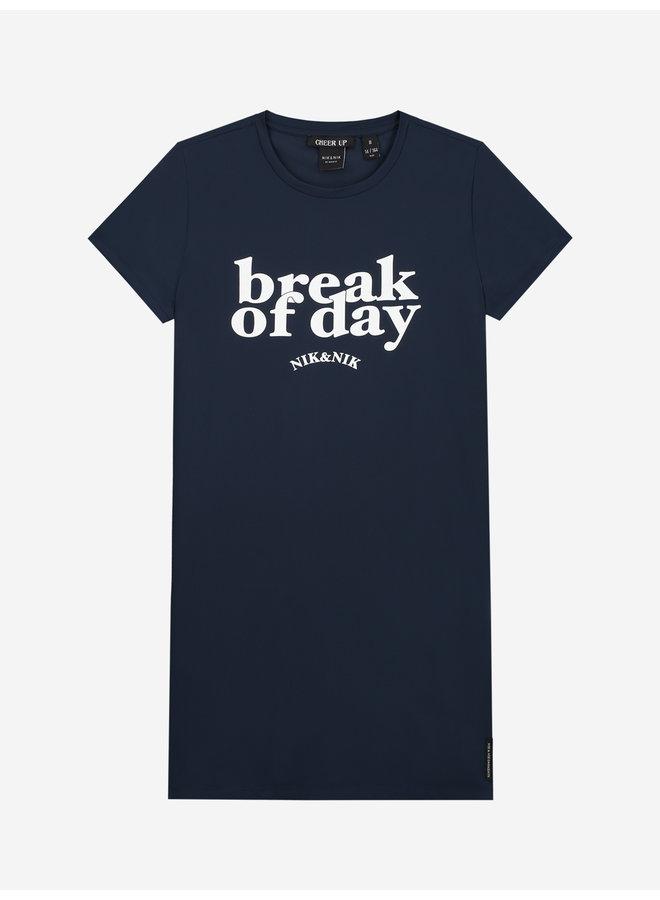 Break Dress Royal Blue