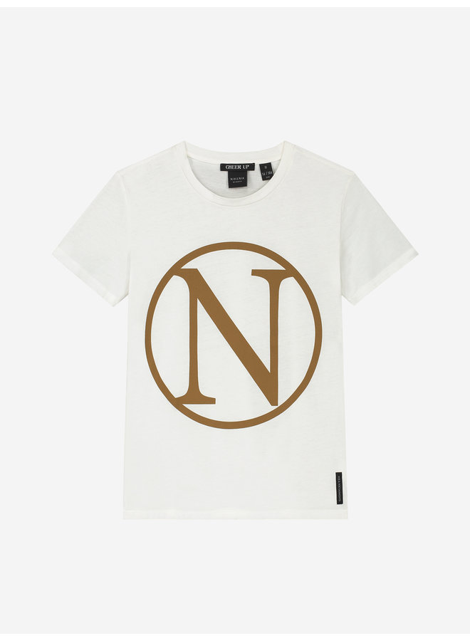 Kim N T-Shirt Off White