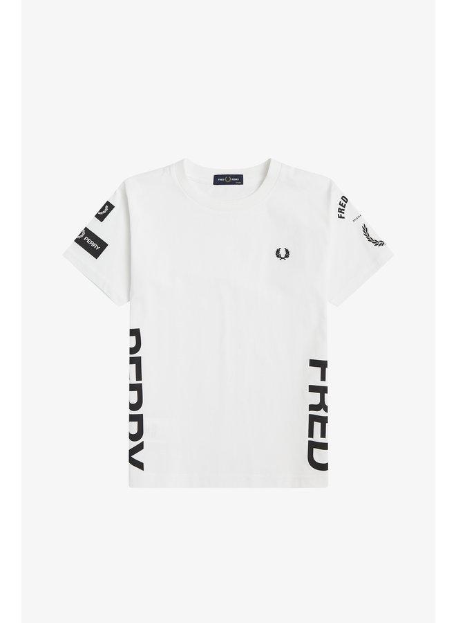 Bold Branding T-Shirt White