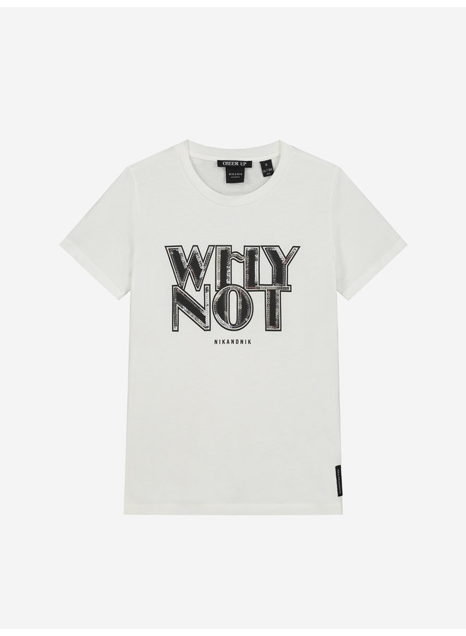Why Not T-Shirt Off White