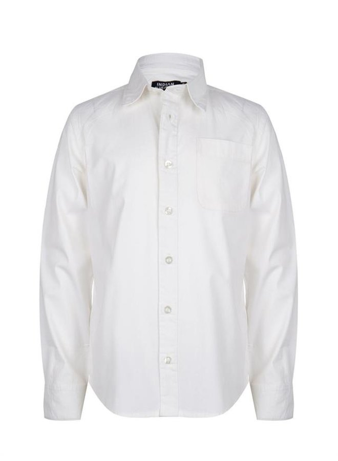 Shirt LS Basic NOOS White