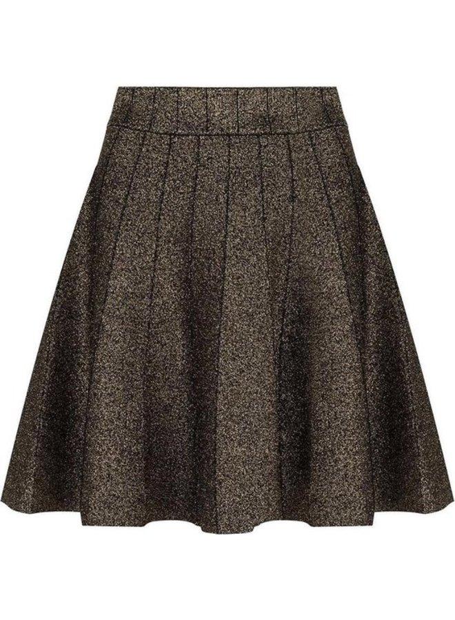 Skirt Gold Black